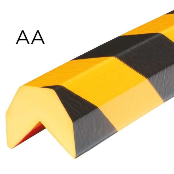 Bumper for corner protection in type AA.