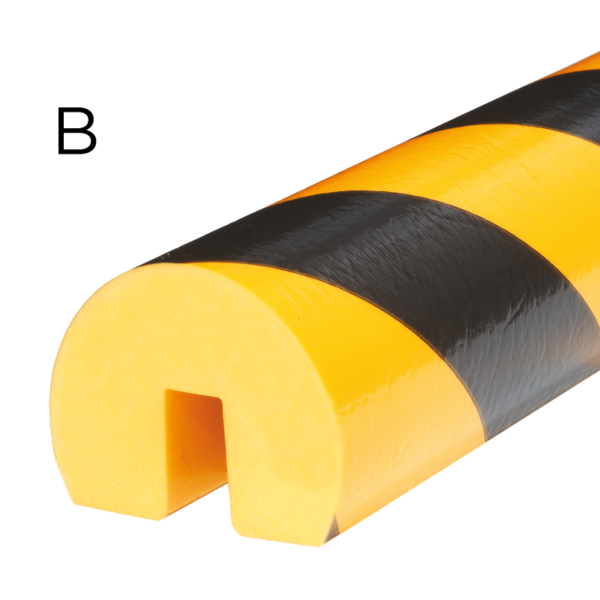 Bumper for edge protection in type B.