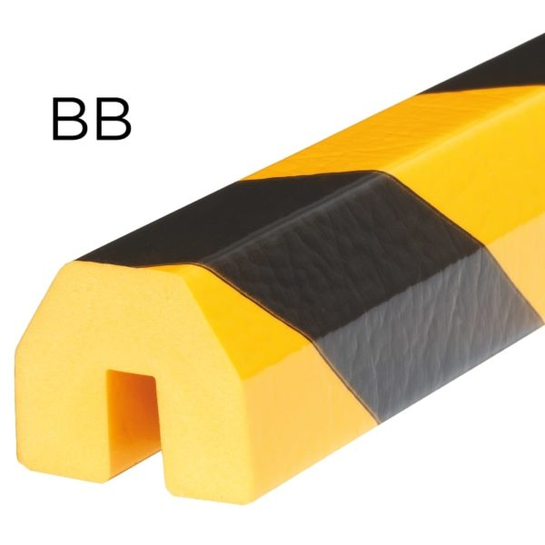 Bumper for edge protection in type BB.