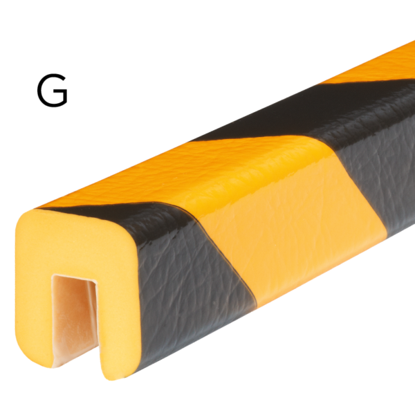Bumper for edge protection in type G.