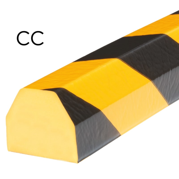 Bumper for surface protection in type CC.