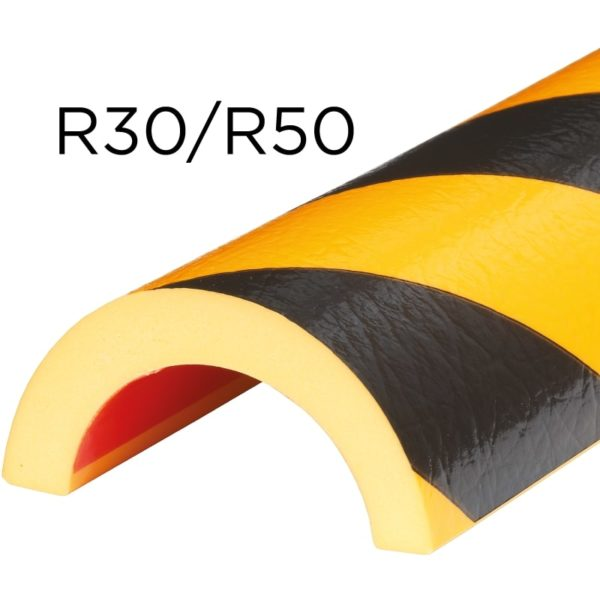 Bumper til rør beskyttelse i typer R30 og R50.