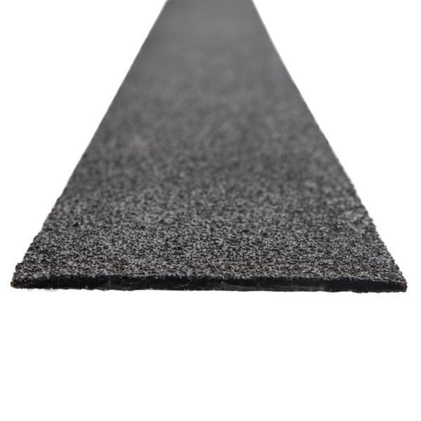 Deck strip in black, size 100-120mmx1200mm.