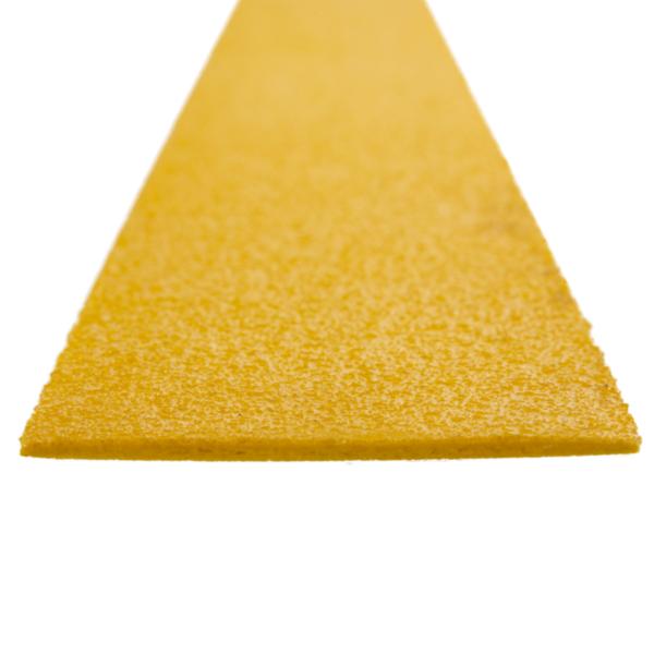 Deck strip in yellow, size 100-120mmx1200mm.