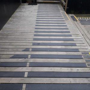 Deck strips