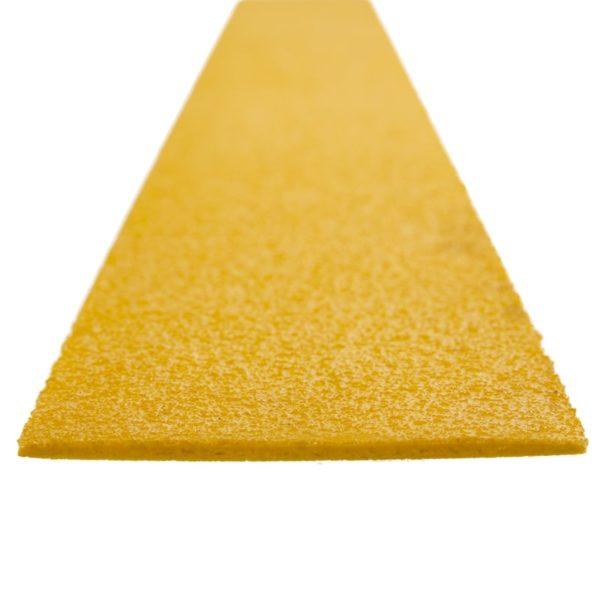 Flugtvej markør i gul på 100mmx1200mm.