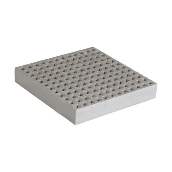 Anti-Slip glassfibre grating mini in grey, size 1000-1527x2000-4047mmxh38.