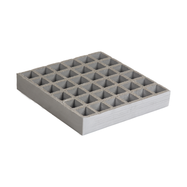Anti-Slipglassfibre grating in grey, size 1000-1527x2000-4047mmxh13-38.