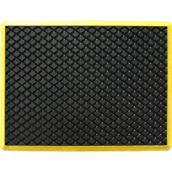 Ergonomic industry mat of 600x900mm.