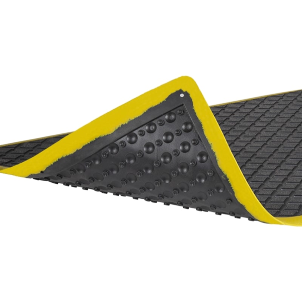 Ergonomic industry mat surface and back.