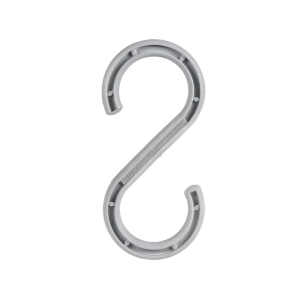 S-hook for cables in size 12'' and with a bearing capacity of 190kg.