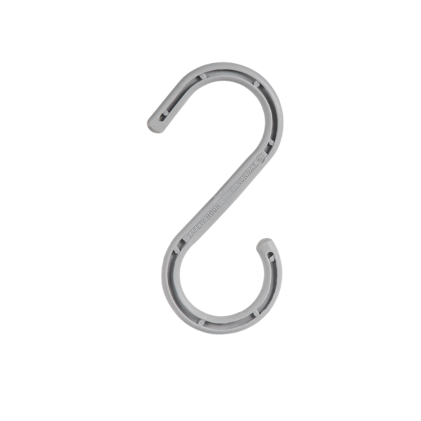 S-hook for cables in size 9'' and with a bearing capacity of 55kg.