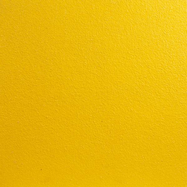 Skridsikker plade i gul på 1m2.