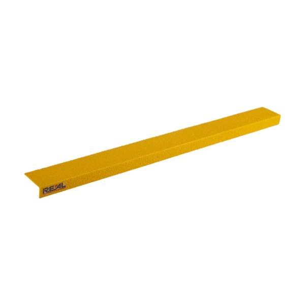 Stair edge cover in yellow, size 75mmx450mm.