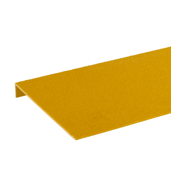 Anti-slip step cover inyellow, sizes 225x450-1200mm.