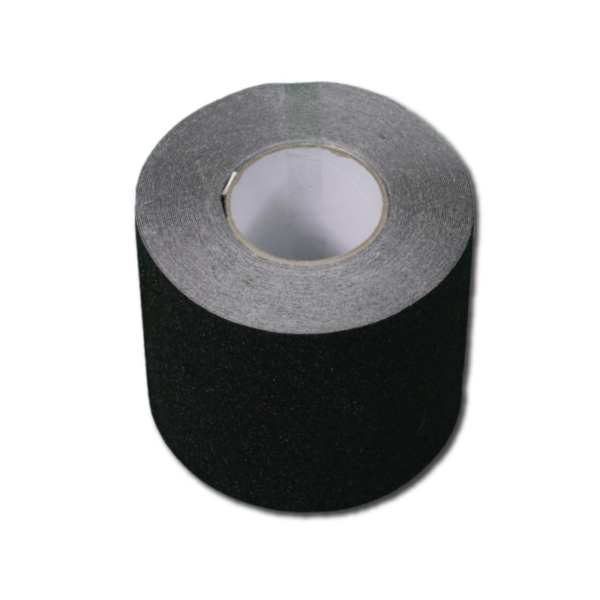 Anti-slip tape in black, size 150mm.