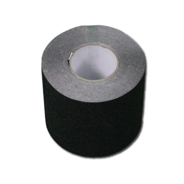 Skridsikker tape i sort på 150mm.