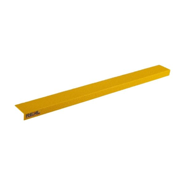 Trappe kant sikring i gul på75mmx450mm.